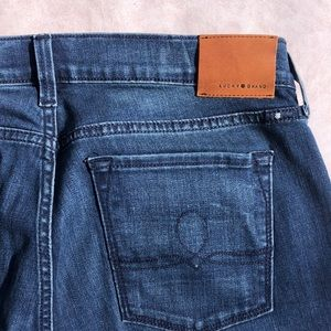 Lucky brand size 10 Sophia straight jeans